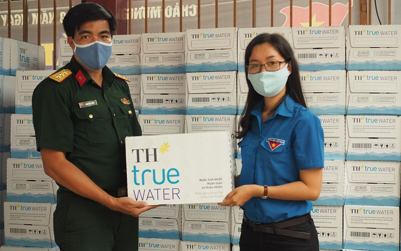 TH True Water chống dịch covid